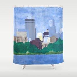 Calhoun Minneapolis Shower Curtain