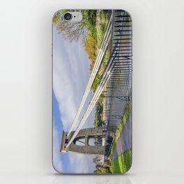 Clifton suspension bridge iPhone Skin