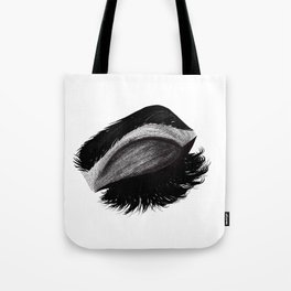Grunge Eyelashes Tote Bag
