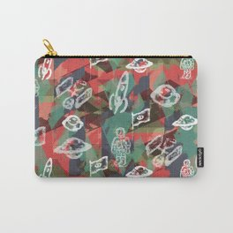 space camo Carry-All Pouch