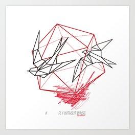 EXPERIMENTAL by Javier Codina Art Print