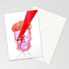 DavidBowie  portrait Stationery Cards