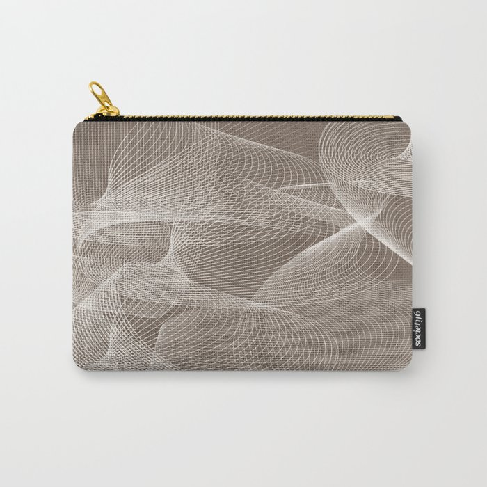 Abstract pattern 12 Carry-All Pouch