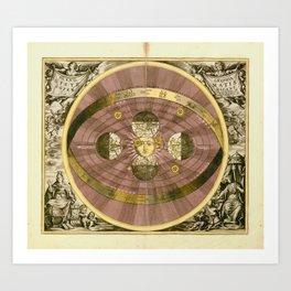 Sceno Syste Coper Graphia Matis Nicani Art Print