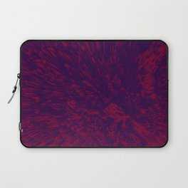 RED WAVES Laptop Sleeve