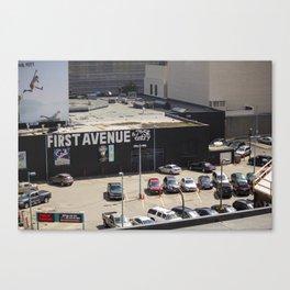 First Avenue Canvas Print