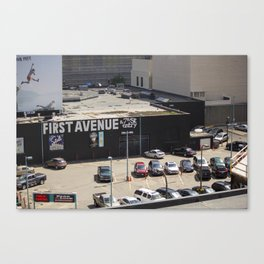 First Avenue Canvas Print