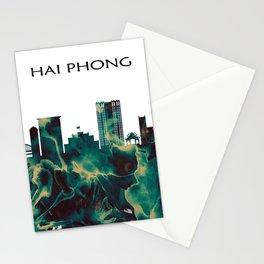 Hai Phong Skyline Stationery Cards