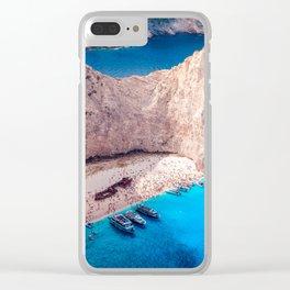 Shipwreck bay Clear iPhone Case