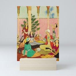 King Agib by Rudolf Koivu Mini Art Print
