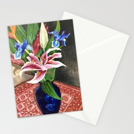 Fresh flowers Stationery Cards