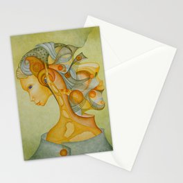 Interwoven thoughts Stationery Cards