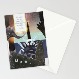 Collage - The Stars We Are Given Stationery Cards