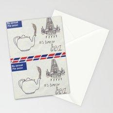 A Parisian, British Tea Stationery Cards