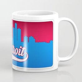 Detroit Classic City Coffee Mug