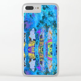 Peeking Through The Pursuit of Happiness a Mesmerizing Experience by annmariescreations Clear iPhone Case