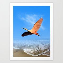 Morning Flight Art Print