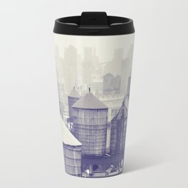 foggy memories of nyc... Travel Mug