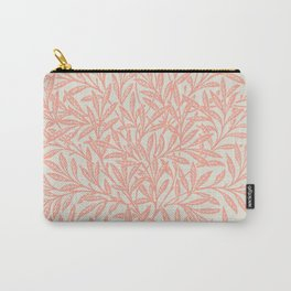 Paradise Peach Willow tree pattern by William Morris Carry-All Pouch