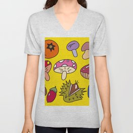 Autumn Harvest_E Unisex V-Neck