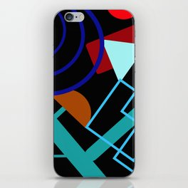 Channeling Kandinsky iPhone Skin