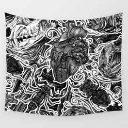Beating Heart Wall Tapestry