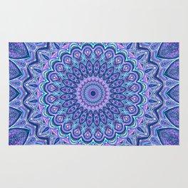 Purple Passion - Mandala Art Rug