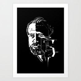 Philip K Dick Art Print