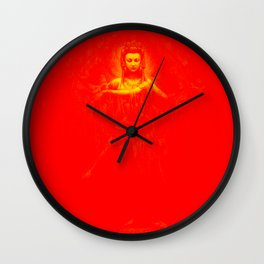 Kuan Yin Love Wall Clock