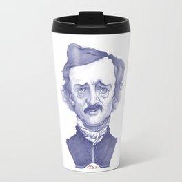 Edgar Allan Poe illustration Travel Mug