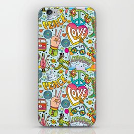 Peace&Love iPhone Skin