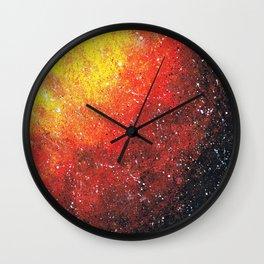 solar storm Wall Clock