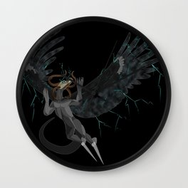 Monster of the Sky Wall Clock