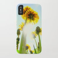 dandelion iPhone & iPod Cases featuring Dandelion by Falko Follert Art-FF77