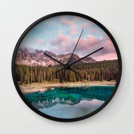South Tyrol, Italy #society6 #decor #buyart Wall Clock