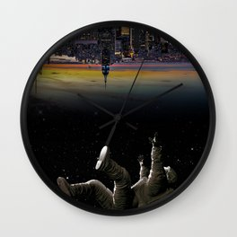 See you earth Wall Clock