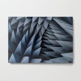 Anechoic Chamber Metal Print