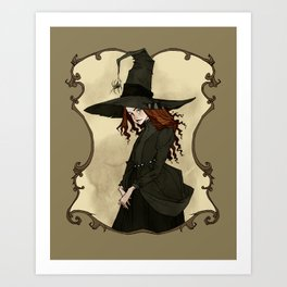 Little Witch Art Print