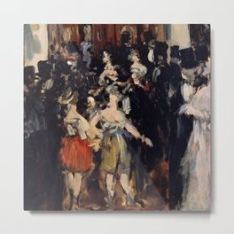 "Édouard Manet ""Masked Ball at the Opera House""(II) Metal Print"