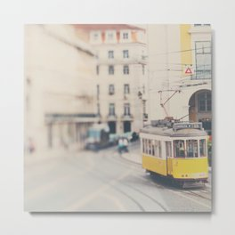 city trams ...  Metal Print