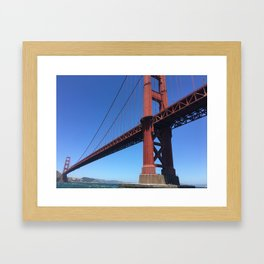 Golden Gate Persective Framed Art Print