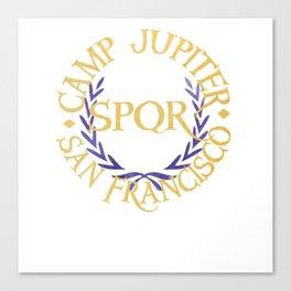 camp jupiter san francisco Canvas Print