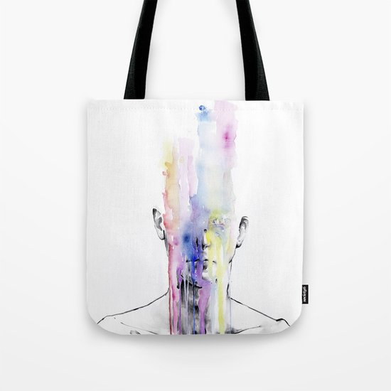 All my art is on you but you still don't hear me Tote Bag