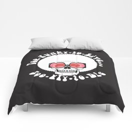 Too Funky Skull Comforters