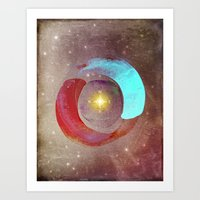 compass Art Prints featuring Compass by Iris Lehnhardt