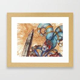CIRCO DEL SOL Framed Art Print