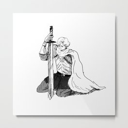 The Beauty Metal Print