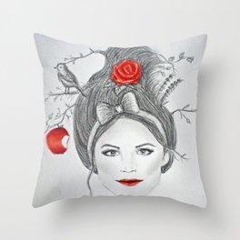 Snow White II Throw Pillow