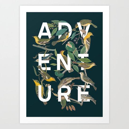 ADVENTURE Art Print