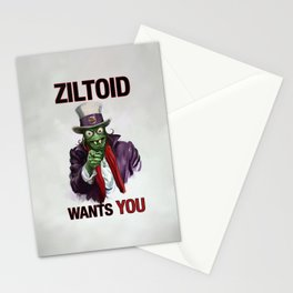 Uncle Ziltoid Wants You! Stationery Cards